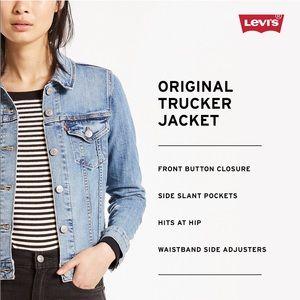 Levi's Dark Wash Denim Jacket